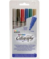 Marvy DecoColor Calligraphy Paint Marker Set MR125-3A