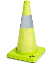Deluxe Lime Collapsible Traffic Cone 17712-1-18