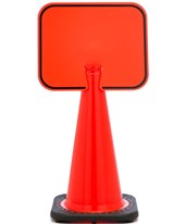 Traffic Cone Sign 17729-0-0