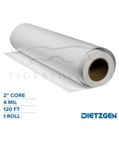 "Dietzgen Economy DM Inkjet Film, 4 mil, 2"" Core, 120ft. Roll 13044436120"