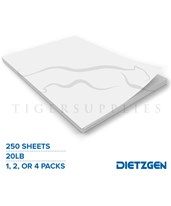 Dietzgen Engineering Bond Paper, 20 lb, 250 Cut Sheets 430A255_x4