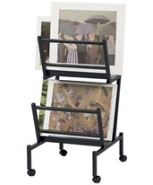 Double Print and Poster Holder PHR200-BK