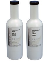 RWF KIP 1800-103 Compatible Black Toner (2 Bottles) KPT1880-2