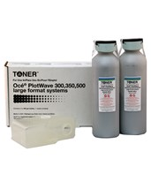 Oce PlotWave 300 / 500 Compatible Black Toner (2 Bottles) OCT300
