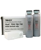 Oce TDS 1060047449 Compatible Black Toner (2 Bottles) OCT700