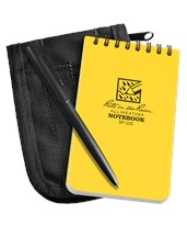 Top-Spiral Universal Pocket Notebook 135
