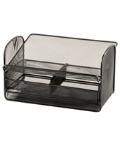 Onyx Mesh Telephone Stand with Drawer (Qty. 5) 2160BL_x5