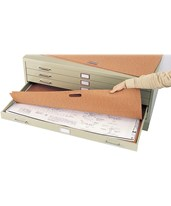 Safco Plan File Portfolio for Steel Flat File (Qty. 10) 3011