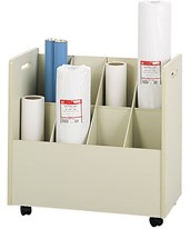 Mobile Roll File with Handles 3045