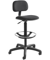 Economy Extended-Height Drafting Chair 3390BL
