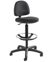 Precision Drafting Chair with Footring 3401BL