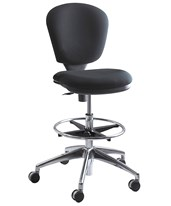 Metro Extended Height Drafting Chair 3442BL