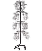 Wire Brochure Display Rack 4128CH
