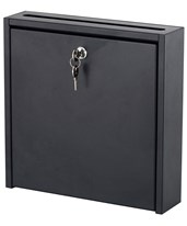 Wall-Mounted Interoffice Mailbox with Lock 4258BL