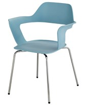 Bandi Shell Stack Chair (Qty. 2) 4275BU
