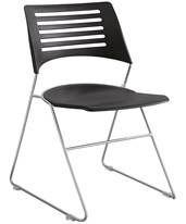 Pique Stack Chair (Qty. 4) 4289BLSL
