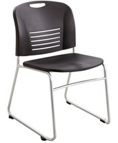 Vy Desk-Height Sled Base Chair (Qty. 2) 4292BL