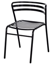 CoGo Steel Outdoor/Indoor Stack Chair (Qty. 2) 4360BL