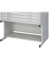 High Base for Safco Facil Flat File 4971LG