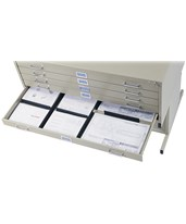 Safco Drawer Dividers for 5-Drawer Flat Files 4980