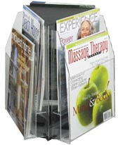 Reveal 6 Magazine Tabletop Display 5698CL