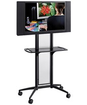Impromptu Flat Panel TV Cart 8926BL