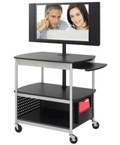 Scoot Flat Panel Multimedia Cart 8940BL