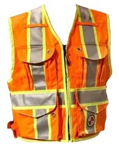 Heavy Duty Party Chief Surveyors Vest PC15XG-S