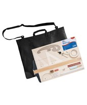 18-Piece Drawing Set with Carrying Bag SD505
