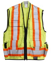 8261-Series Class 2 Safety Utility Vest 8261-L-FLY