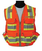 8265-Series Class 2 Surveyors Utility Vest 8265-42-FLY