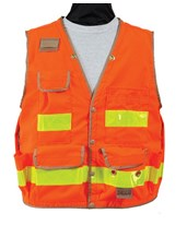 8063-Series Class 2 Surveyors Utility Vest with Outlast Liner 8063-42-FOR