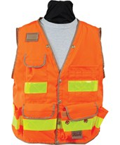 8069-Series Class 2 Surveyors Utility Vest with Mesh Back 8069-42-FOR