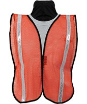 8076 Reflective Economy Nylon Mesh Safety Vest 8076-01-FLY