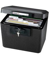 Large Fireproof File Chest With Hanging File Folders 1170