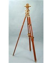 Brass Theodolite with Teak Tripod and Hardwood Case SL1