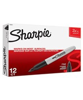 Sanford Super Sharpie Bold Point Permanent Marker (Box of 12) SN33001/BX