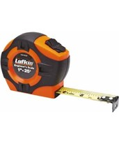 "Lufkin 1""x25' Series 1000 Hi Viz Engineers Power Tape 120121"