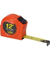 "Lufkin 3/4""x12' Hi Viz Power Tape 120134"
