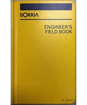Sokkia Engineers Field Book 815230