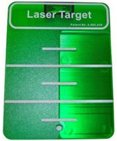 Ceiling Target for Green Beam Cross Line Laser 1215-1560
