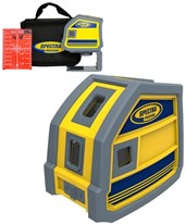 Spectra LP51 5-Point Red Beam Laser Level LP51
