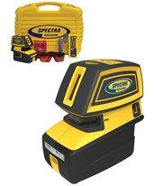 Spectra LT52R 5-Point and 2-Cross Line Laser Level LT52R
