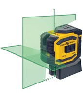 Stabila LAX300G Green Beam Cross Line Laser 03185