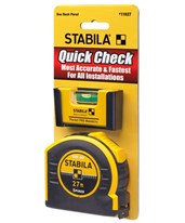 Quick Check Pocket Level and Tape Measure Set 11927