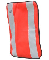 Orange Plain Front Cover for Tablet Ex Gear Standard Chest Pack FC-Pln-Or-S1017