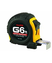 G-Series Standard Scale Tape Measure, 6 feet x 1/2 inch G-6BW