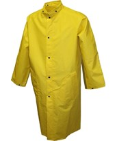48 Inches Flame Resistant Yellow Coat C56207.MD