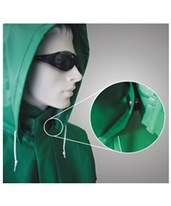 ACID SUIT - Green Detachable Hood H41108.LG