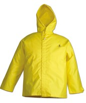 Flame Resistant Yellow Jacket for Hydroblasting Applications J56147.SM